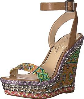 373dedf9693 Jessica Simpson Women s Alinda Wedge Sandal