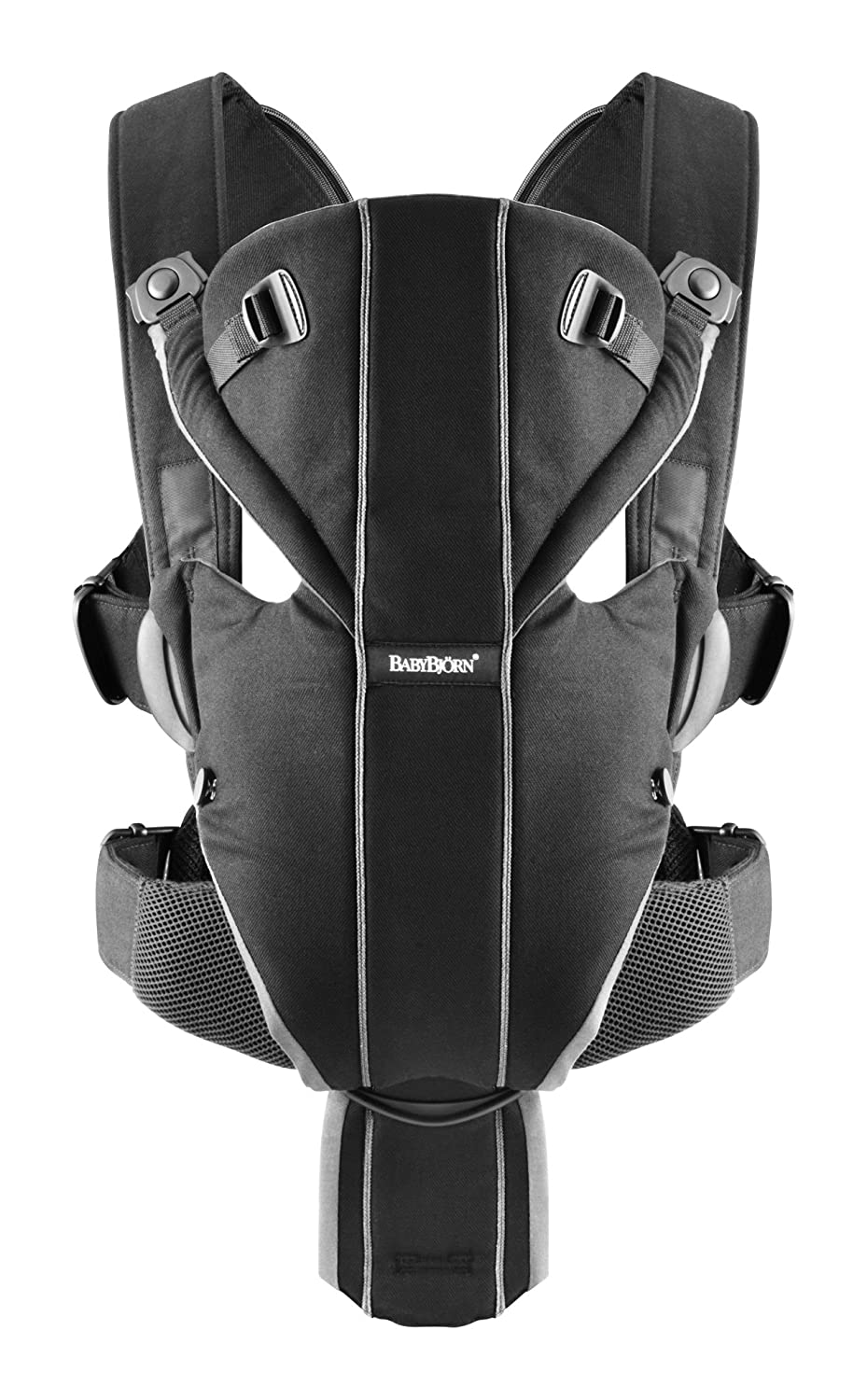 BABYBJORN Baby Carrier Miracle - Black, Mesh 096002US