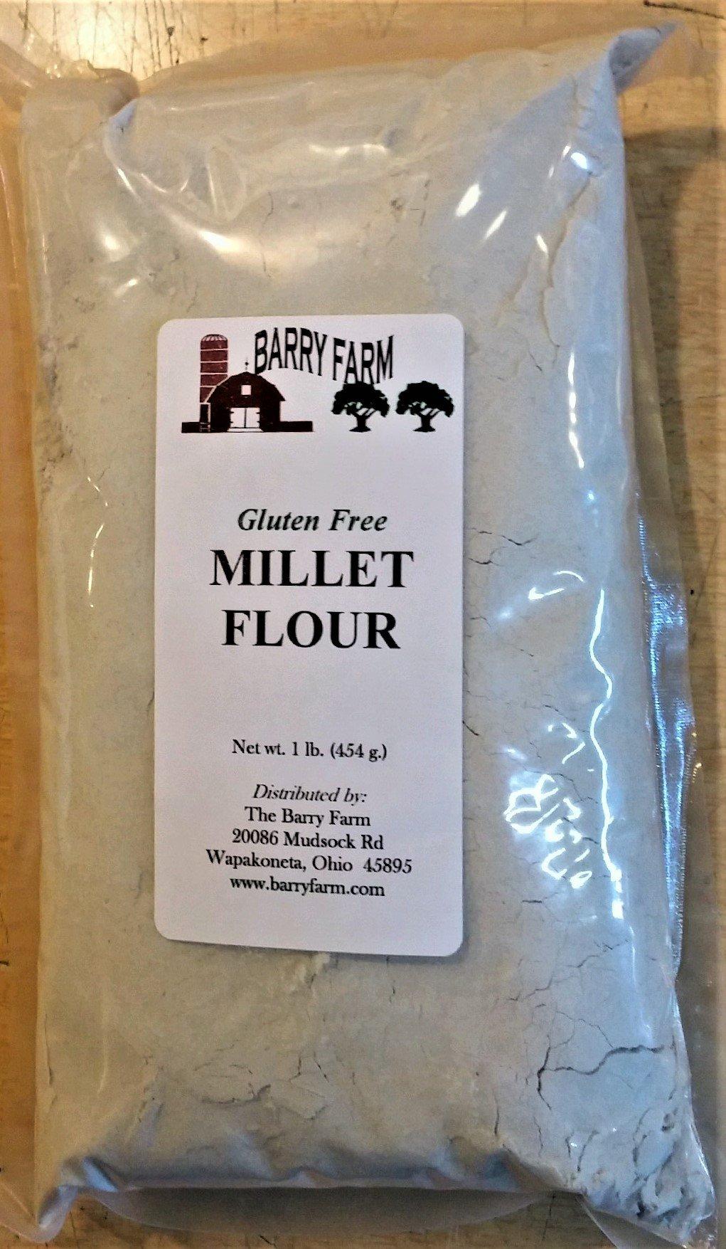 Millet Flour, 1 lb.
