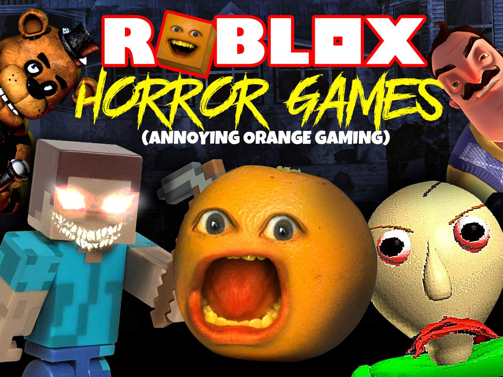 Baby Alive Inside Roblox Hello Neighbor Game In Real Life Tattletale Game Watch Clip Annoying Orange Let S Play Tattletail Scary Furby Gaming Prime Video