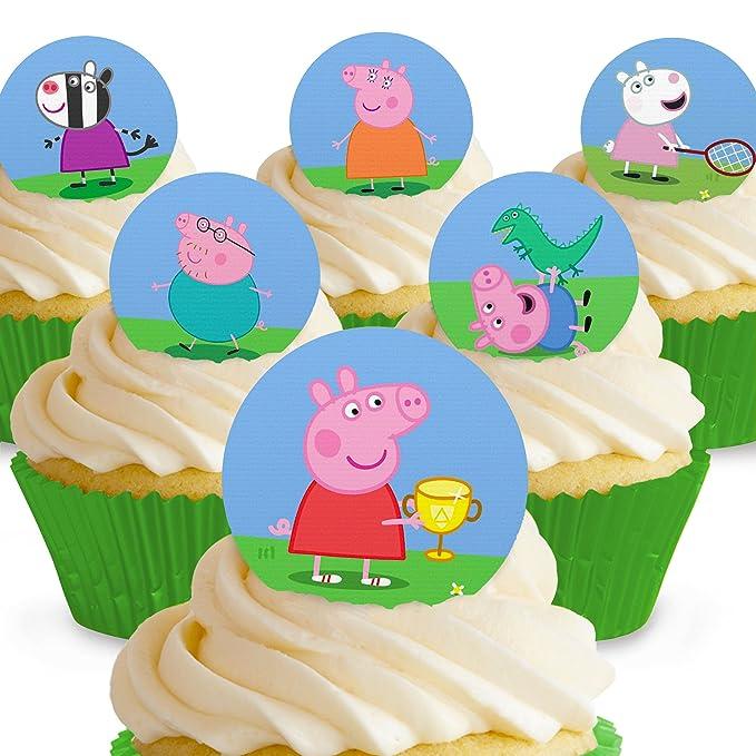 Cakeshop - Decoración comestible para tartas, 12 unidades ...