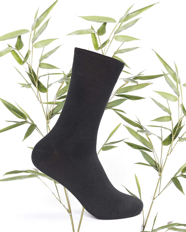 FOOTNOTE 8 Paar Atmungsaktive Bambus Socken Herren Damen