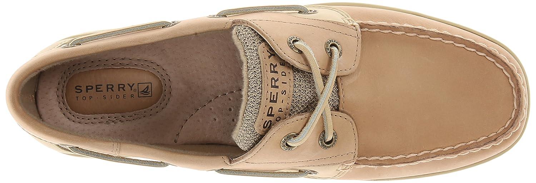db9835fa478 Sperry Top-Sider Women's Bluefish 2-Eye Boat Shoe,Linen/Oat,7.5 M