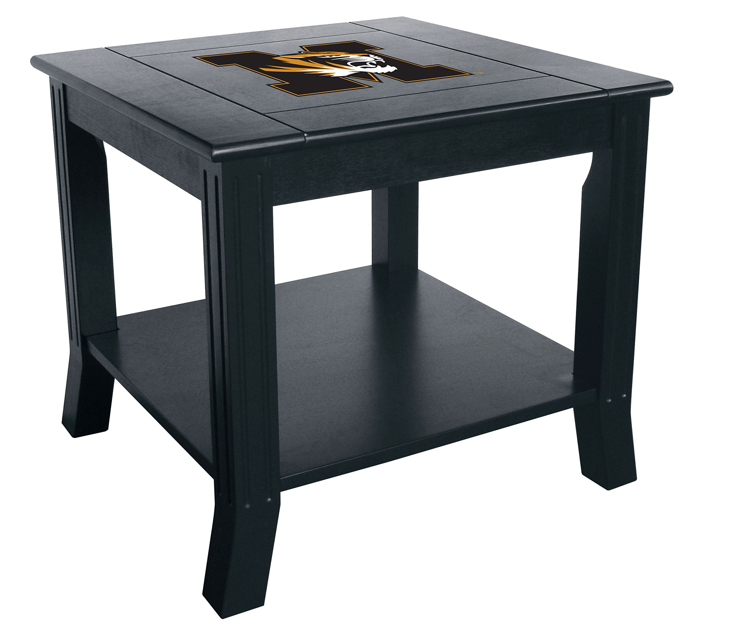 Imperial Officially Licensed NCAA Furniture: Hardwood Side/End Table, Missouri Tigers by Imperial