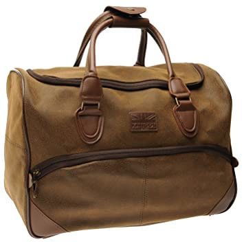 c790a3c1 Kangol Small Holdall Brown -: Amazon.co.uk: Luggage
