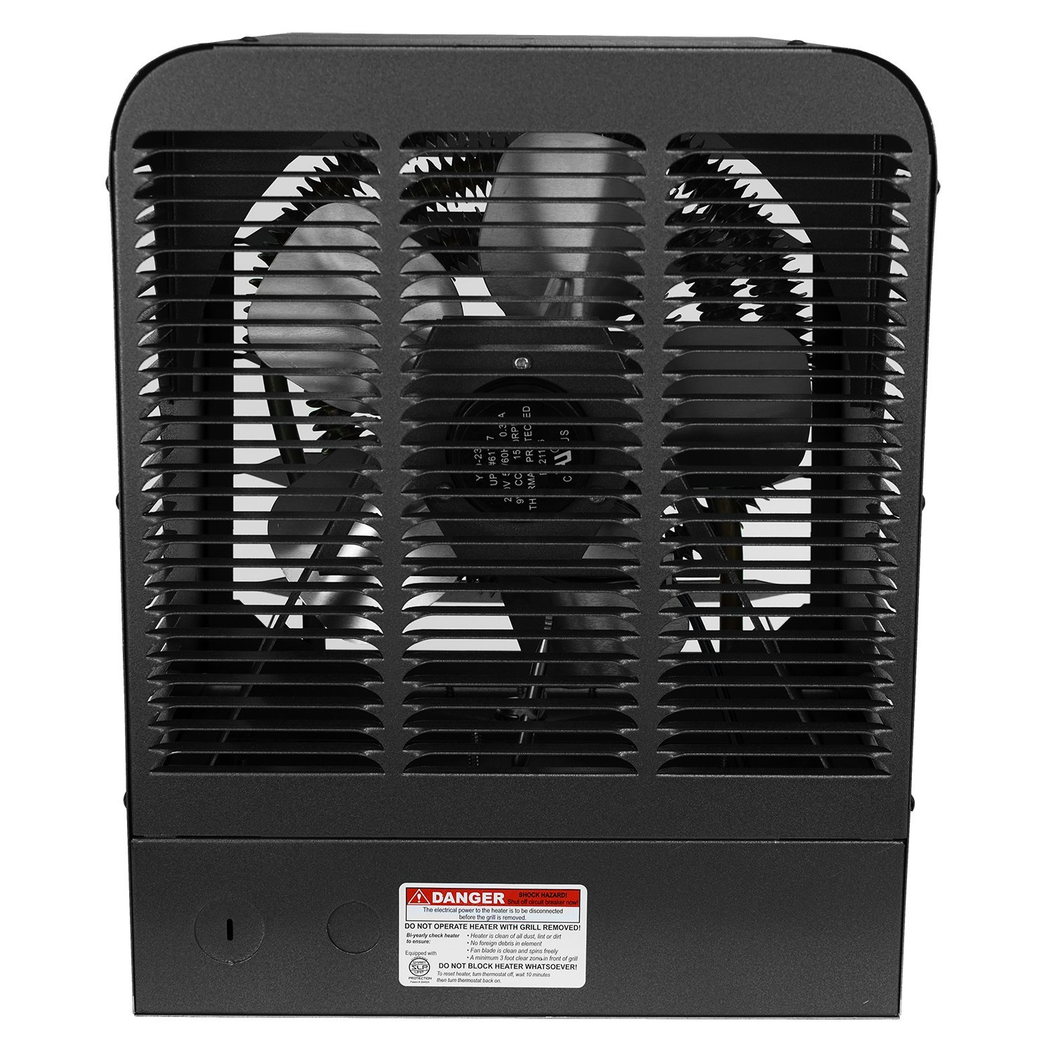 King Electric GH2405TB 240V 5000W Garage Heater with Bracket and Thermostat, Gray by King Electric (Image #3)