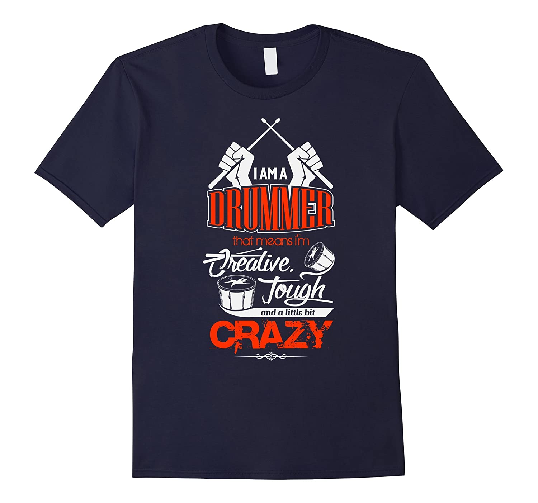 Creative Musician Drummer Drum Accessories tshirts apparel-FL