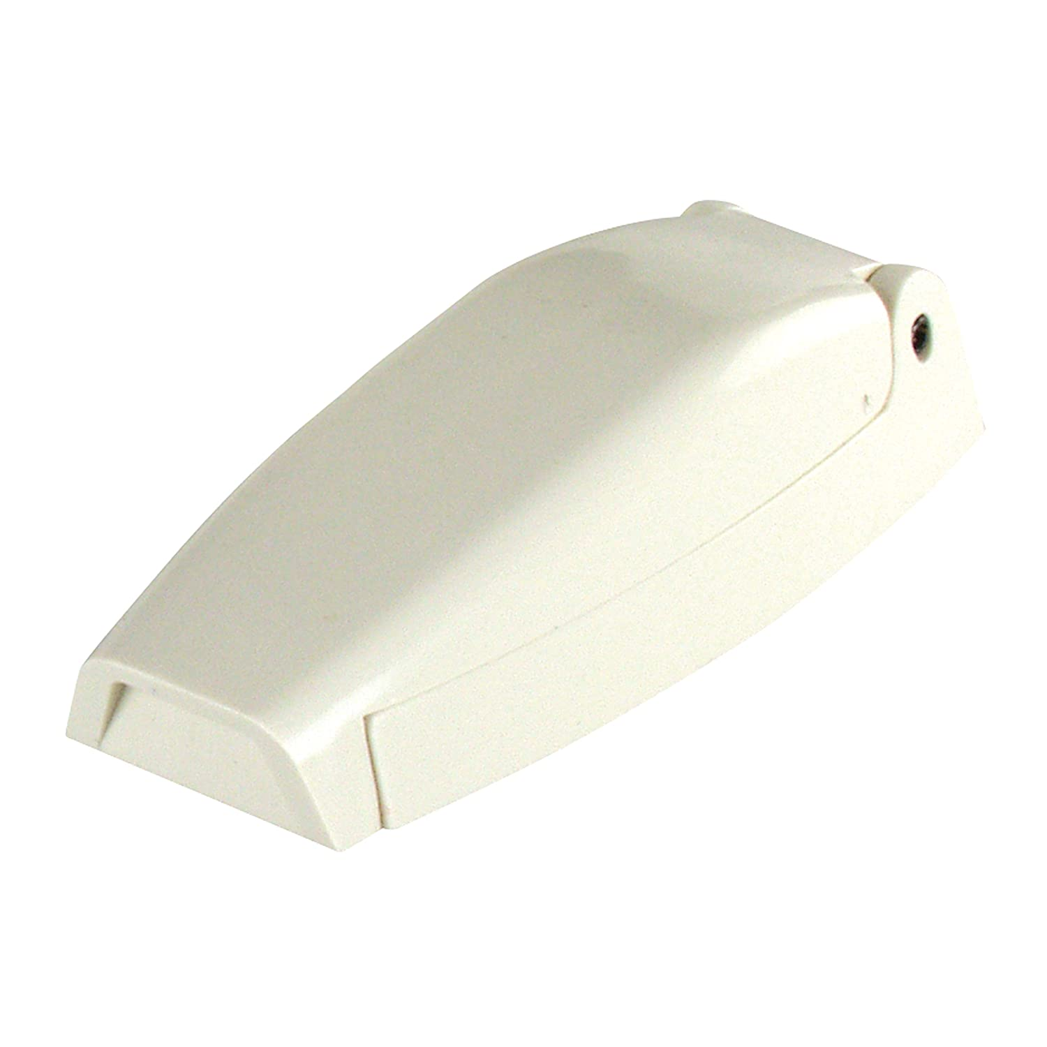 JR Products 10234 Baggage Door Catch - White, Pack of 2