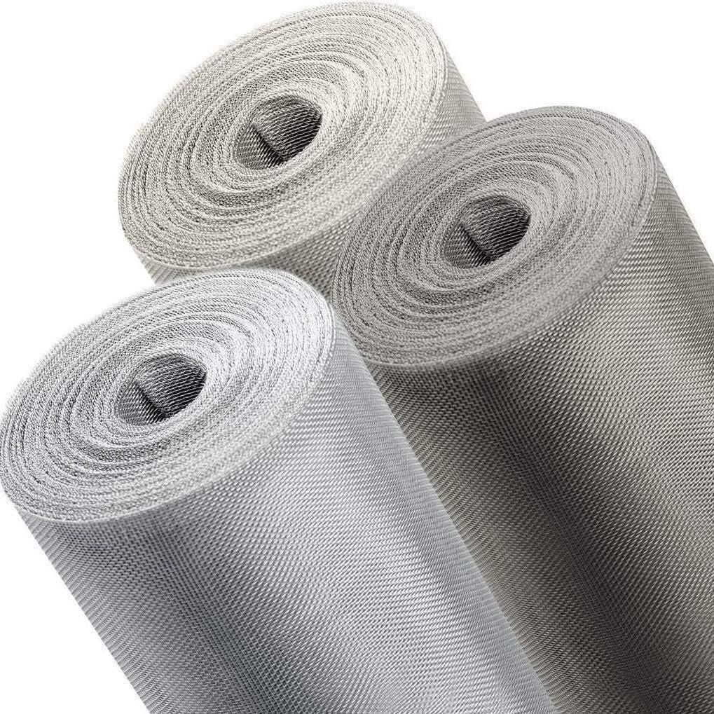 Edelstahl V4A, 1,2m Fliegennetz Meterware aus Eisen Verzinkt//Aluminium//Edelstahl 0,8m 1m //1,2m