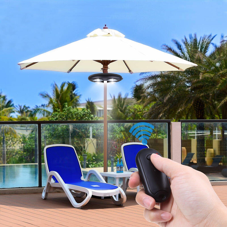 umbrella light, remote controlled lighting