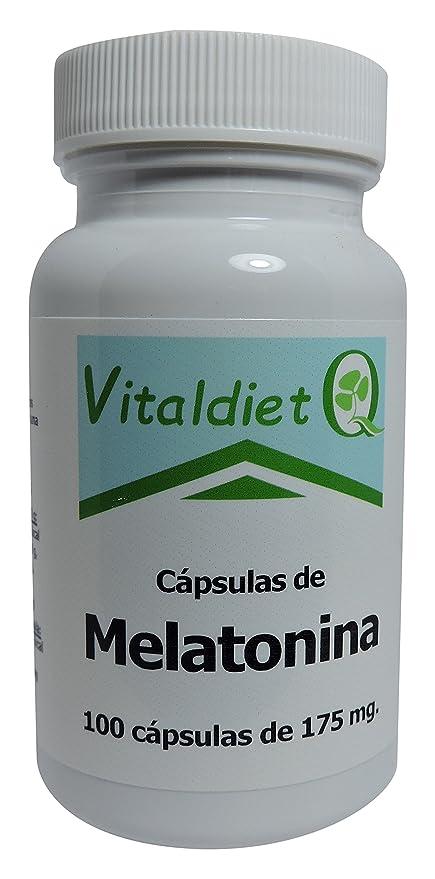 Vitaldiet Melatonina - 3 Paquetes de 100 Cápsulas