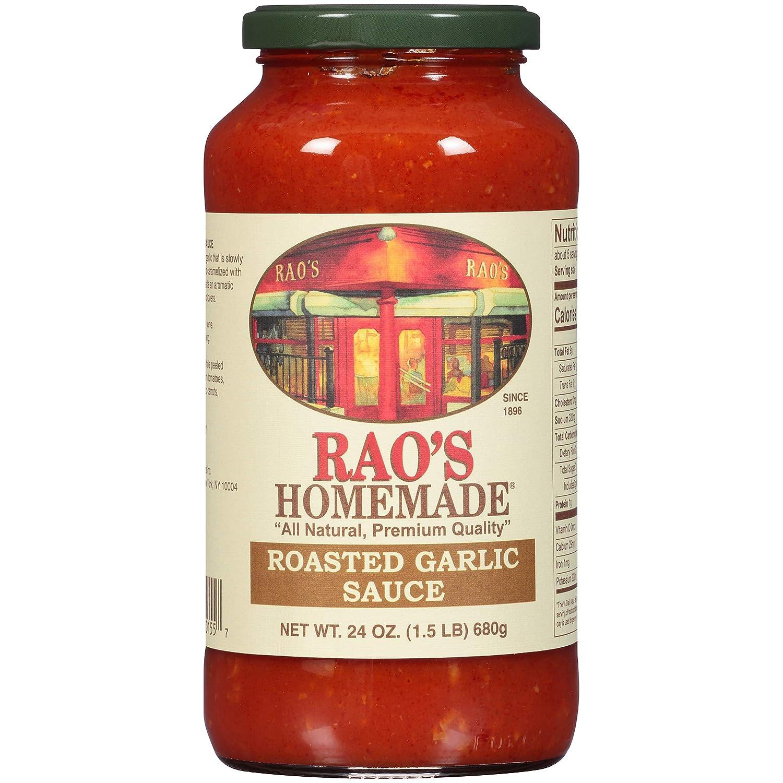 Rao's Homemade Roasted Garlic Sauce, 24 Oz Jar, 3 Pack
