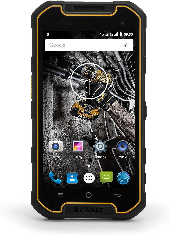 Smartphone DEWALT Sumergible MOVIL 16GB Libre Dual-SIM Android ...