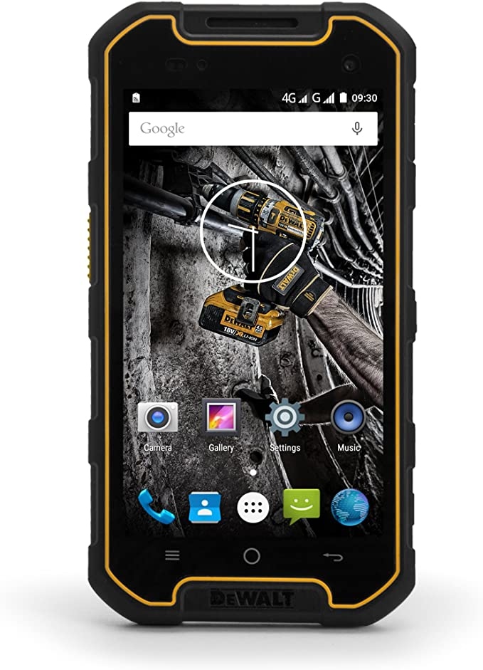 Smartphone DEWALT Sumergible MOVIL 16GB Libre Dual-SIM Android: Amazon.es: Electrónica