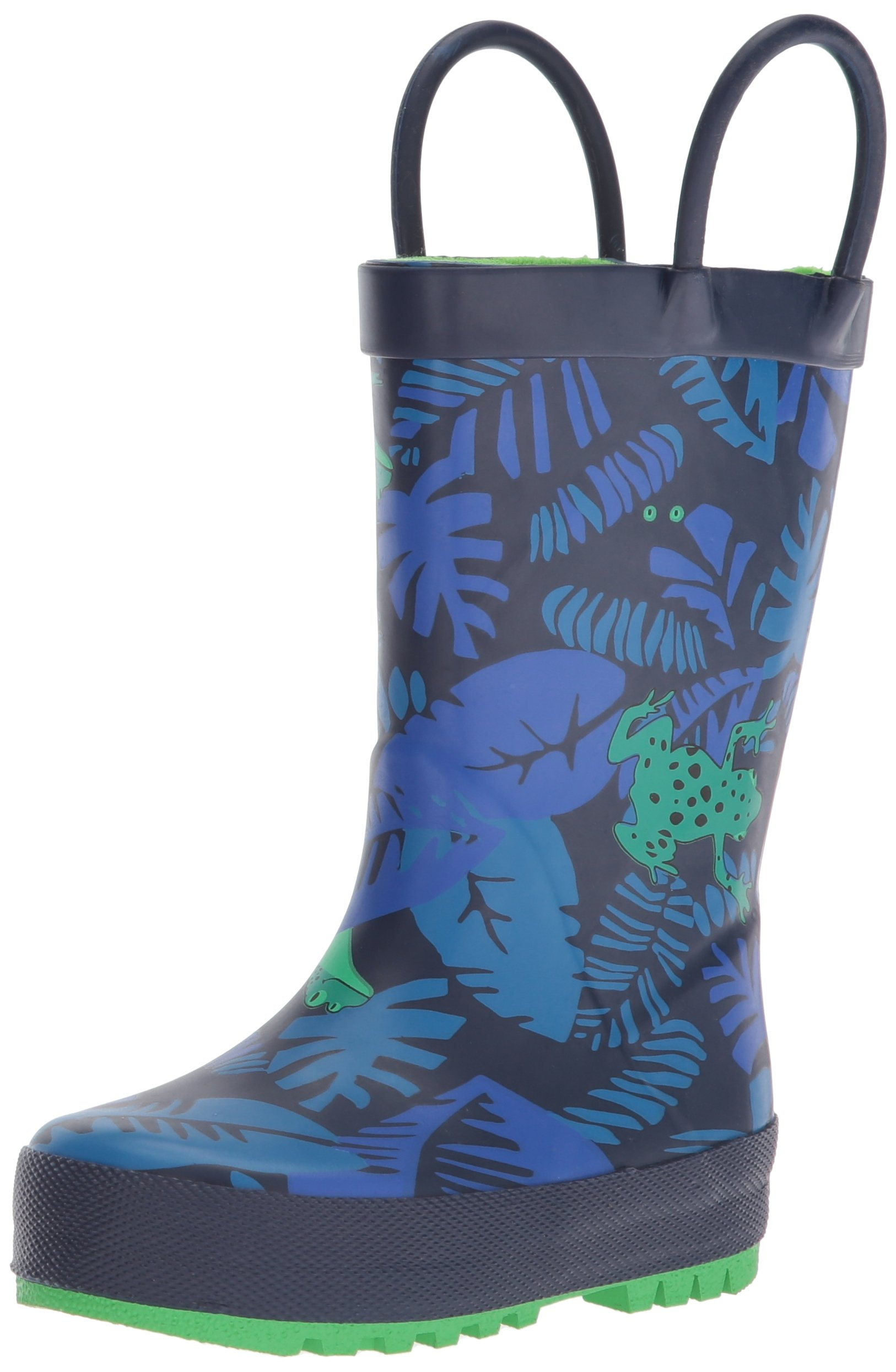 Carter's Boys' Andric Rain Boot, Navy, 11 M US Little Kid