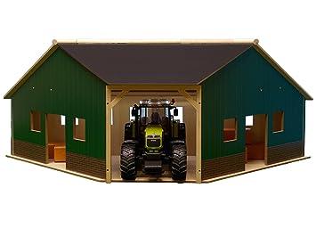 Kids Globe 610339 - Granja en esquina (escala 1:16, 40 x 100 x 38 cm, compatible con Bruder): Amazon.es: Juguetes y juegos