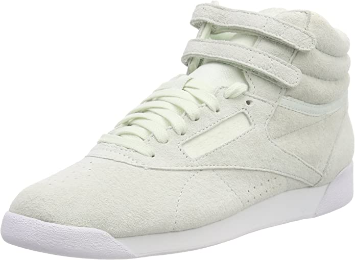 Reebok Freestyle Hi Sneakers High Top Damen Schuhe Beige
