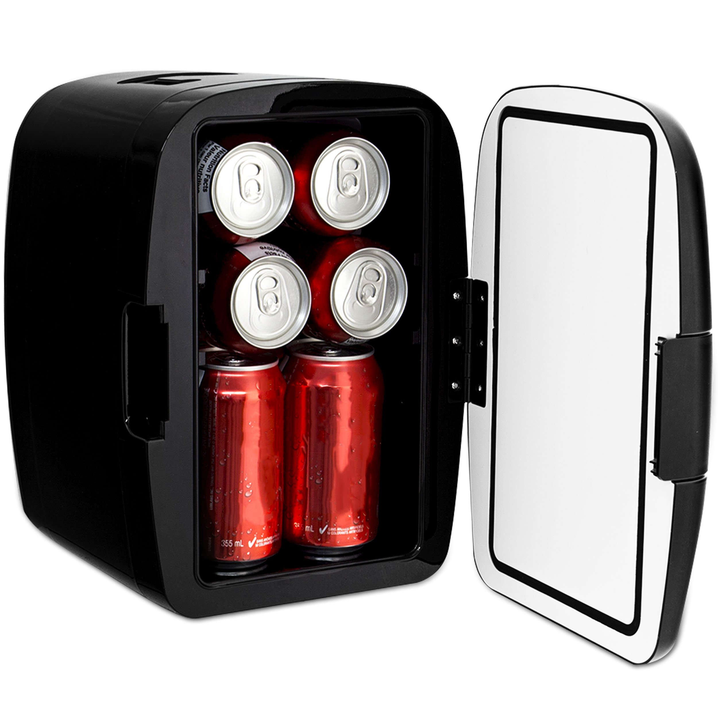 Magnasonic Portable 8 Can Mini Fridge Cooler & Warmer, 5L Capacity, Fully Insulated, Thermoelectric, 110V & 12V AC/DC Power for Home, Office, Car, RV & Boat by Magnasonic (Image #9)