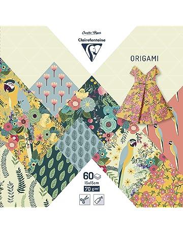 différentes tailles japonais origami papier par colorés Tant vert foncé
