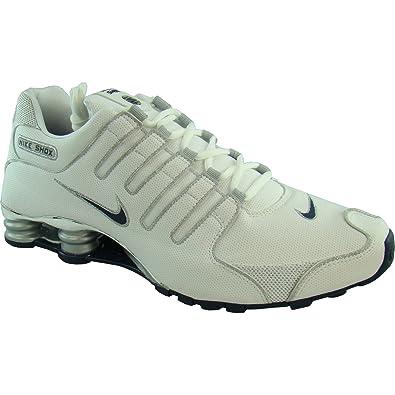 0fb3a577e71044 NIKE Shox NZ Sneaker RARITÄT weiß silber blau