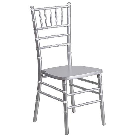 silver chiavari chair. Flash Furniture HERCULES Series Silver Wood Chiavari Chair I