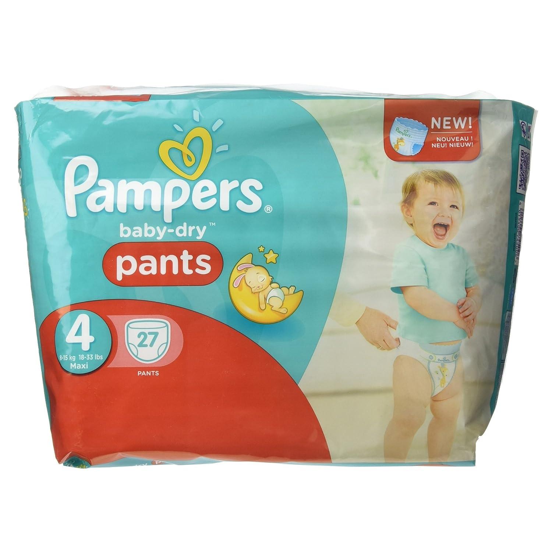 mit Luftkan/älen 9-15 Kg 24 Pampers Baby-Dry Pants//Windeln Gr/ö/ße 4