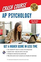 AP®  Psychology Crash Course, For the New 2020 Exam, Book + Online: Get a Higher Score in Less Time (Advanced Placement (AP) Crash Course) Kindle Edition