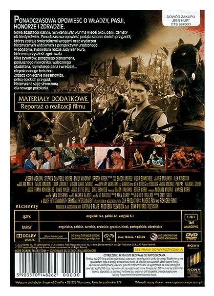 Ben Hur DVD Region 2 English audio  English subtitles