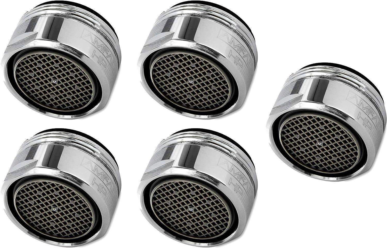 Mischd/üsenschl/üssel Strahlregler aus Hochwertigem Messing verchromtes Geh/äuse mit ABS-Filter ZITFRI 18 St/ück Strahlregler M24 Luftsprudler f/ür Wasserhahn sieb Einsatz Mischd/üse mit ABS-Filter inkl