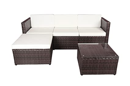 Amazon.com: divano Roma moderno jardín al aire última ...