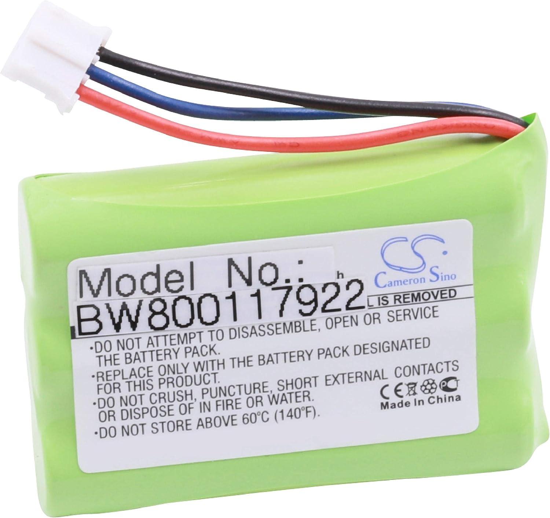 vhbw NiMH batería 700mAh (3.6V) para teléfono Fijo inalámbrico como ZTE Ni3607T30P3S473211