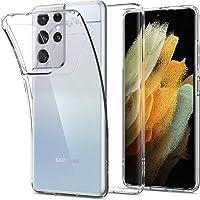 Spigen Samsung Galaxy S21 Ultra 5G Case Liquid Crystal - Crystal Clear