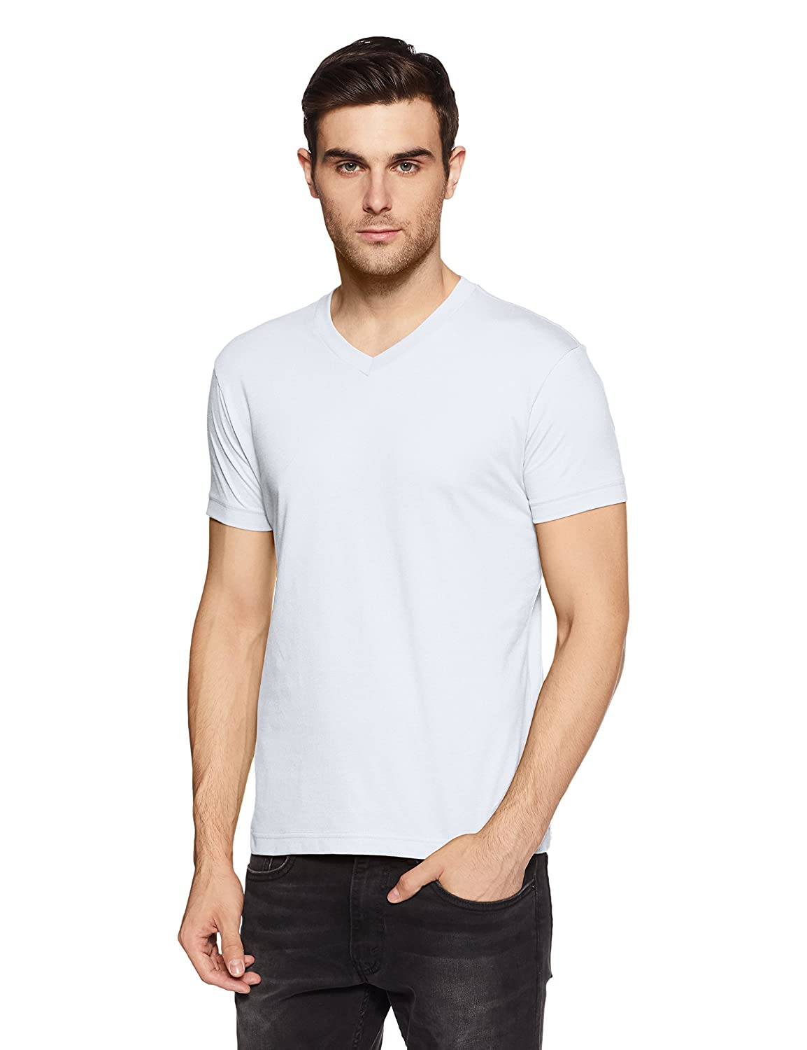 White casual wear t shirts