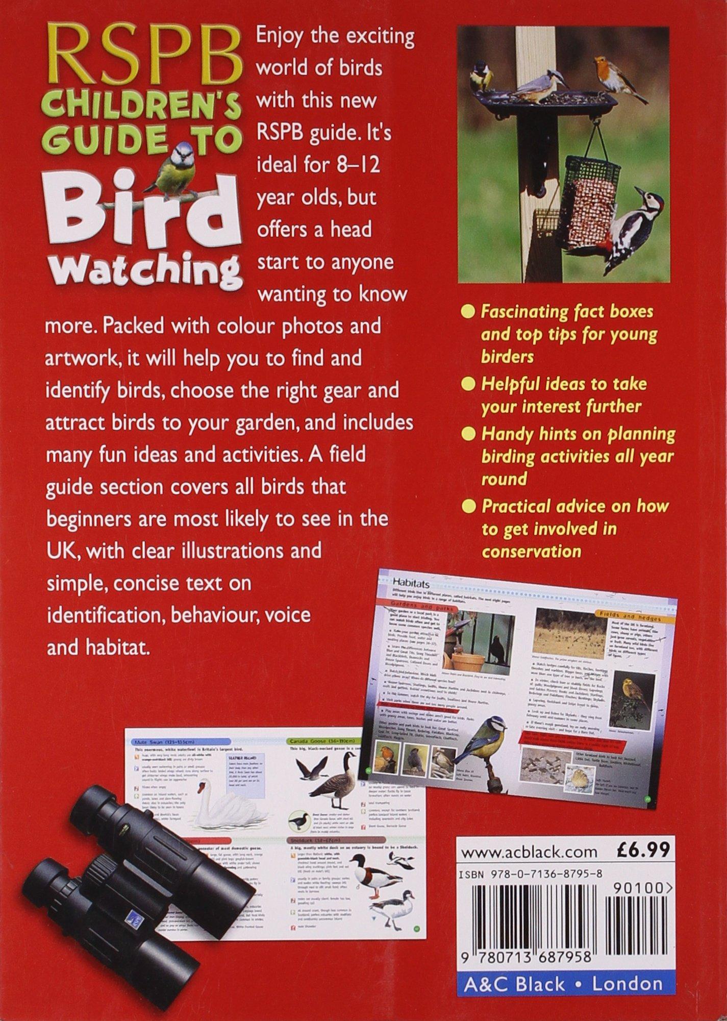Rspb Childrens Guide To Birdwatching Professor Of Chemistry David Chandler 9780713687958 Amazon Books