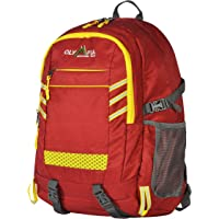 Deals on Olympia USA Huntsman 25L 19-in Red and Yellow Outdoor Backpack