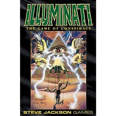 Illuminati: Jackson, Steve: Toys & Games