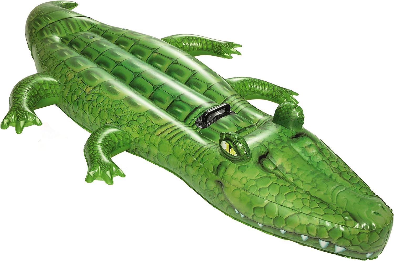 Bestway - Crocodrilo Flotante XL (a Partir de 3 años, 203 x 117 cm ...