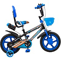 Hi-Fast 14T Single Speed Kids Cycle for 3 to 5 Years Boys & Girls Semi Assembled with Training Wheels