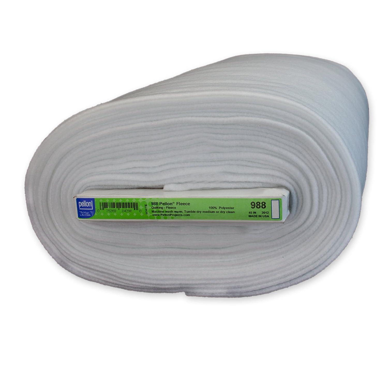 Pellon 988 Fleece - White - 45 x 10 yards