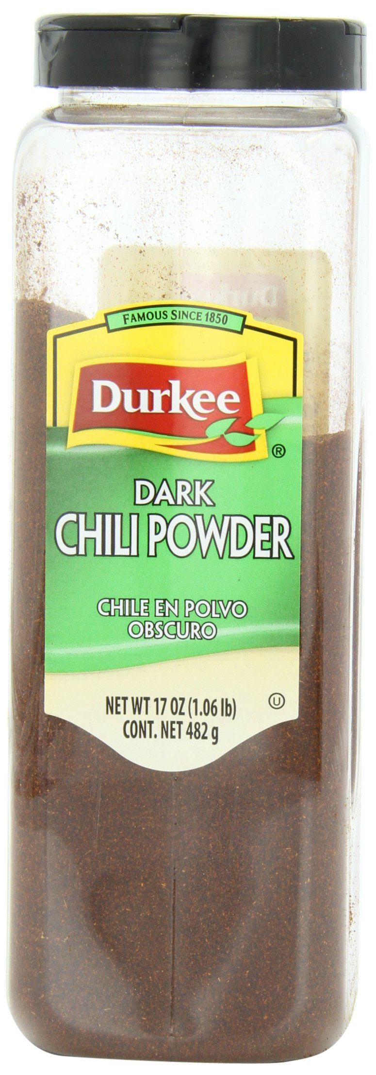 Durkee Chili Powder, Dark, 17-Ounce (Pack of 6)