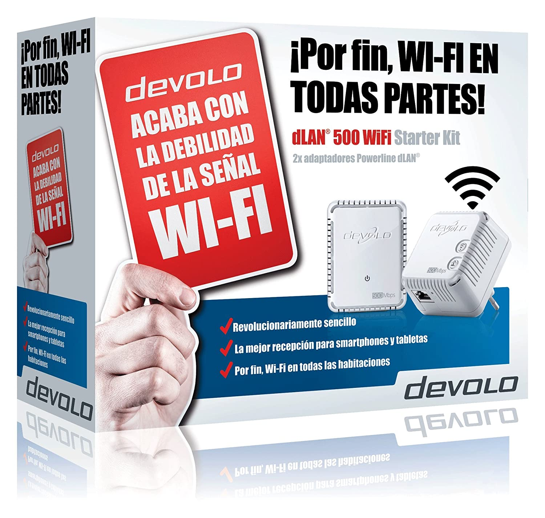 Devolo dLAN WiFi Kit de inicio de adaptador de comunicación por línea