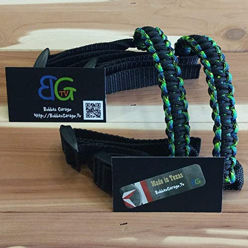 Pick your pairs Black /& Neon Yellow Reversible Paracord Jeep Wrangler Grab Handles