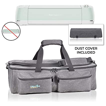 11d8c06e5fb9 Cricut Carrying Case by Creative Stamina – Cricut Die-Cutting Machine Tote  Bag with Dust Cover - Waterproof & Dustproof – Multiple Pockets – ...