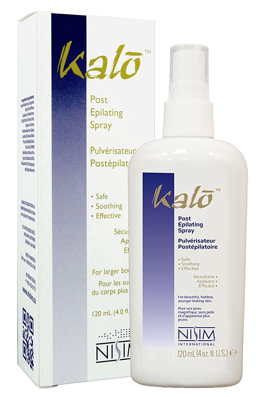 Kalo Post Epilating Spray for use after hair removal waxing shaving laser Nisim International SU2500