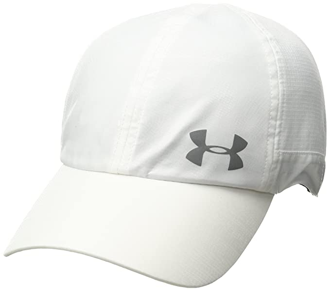 a385214c219 Under Armour Fly by Armour Vent Women s Cap (1291073-101 White One Size)