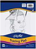 """UCreate Tracing Pad, White, 9"""" x 12"""", 50 Sheets"""