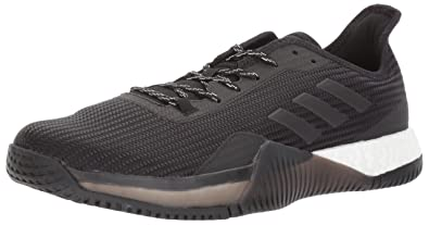 buy popular 508db bed16 adidas Mens Crazytrain Elite M Cross Trainer Night MetallicBlack, 8  Medium US