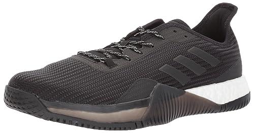 buy popular 831b6 a5a99 adidas Men s Crazytrain Elite M Cross Trainer Night Metallic Black, 8  Medium US