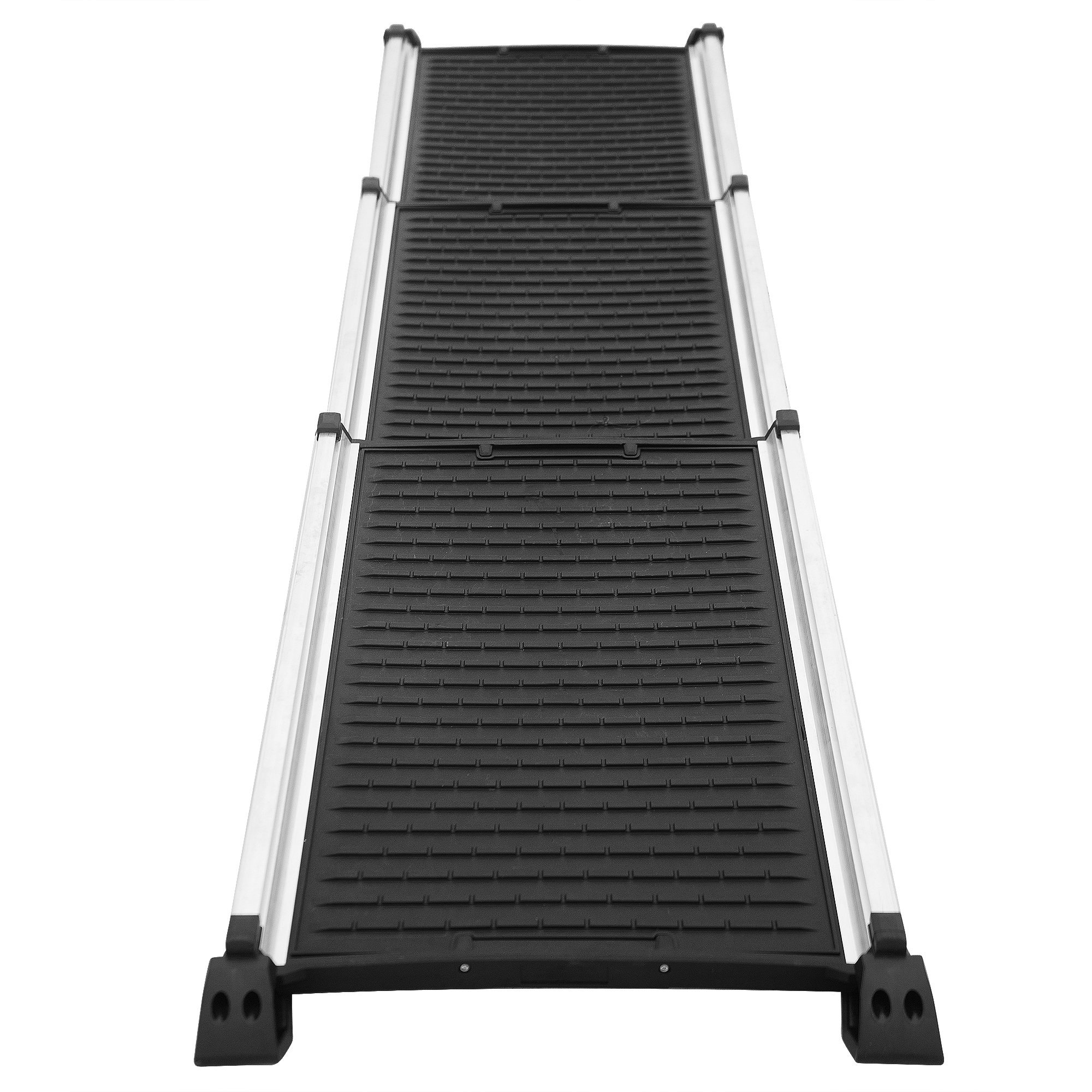 Pet Trex 83-DT5277 Titan Telescoping Aluminum Ramp | 28-62 Inches, Black