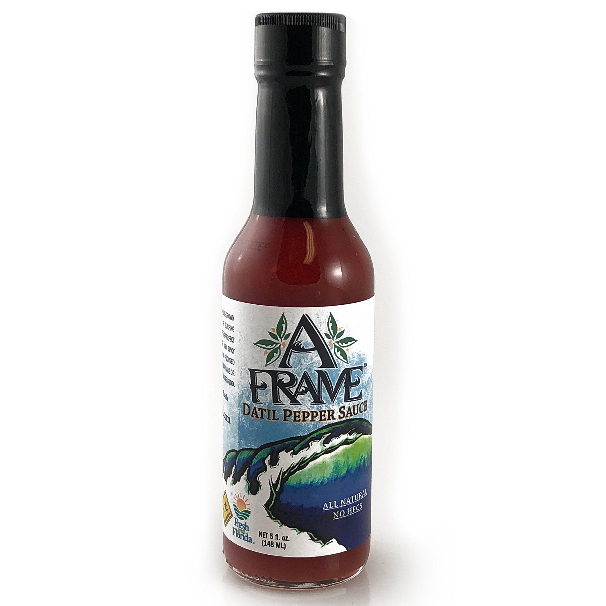 Amazon.com : San Augustin Datil Pepper Table Sauce, 8 ounce bottle ...
